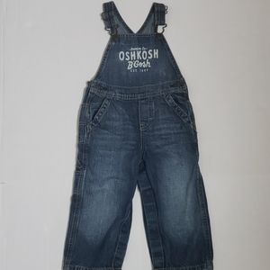 5 for $25 Oshkosh Carpenter Overalls Size 24 mon